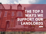 Top 5 Ways we Support our Landlords