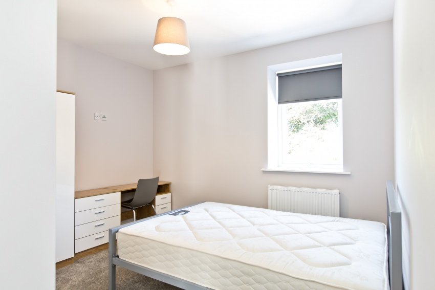 Lynthorpe House - Sheffield Student Apartment - Bedroom