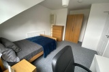 Cowlishaw Road - Sheffield Student Property - Attic Bedroom