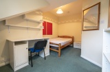 Burns Road - Sheffield Student Property - Attic Bedroom