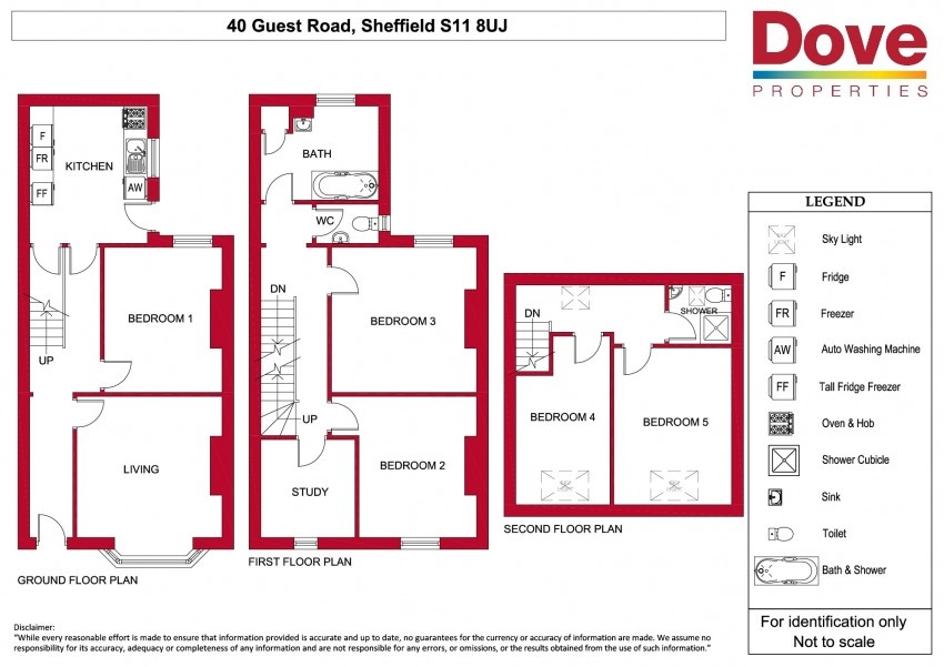 Floor plan for 40 Guest Road, Hunters Bar