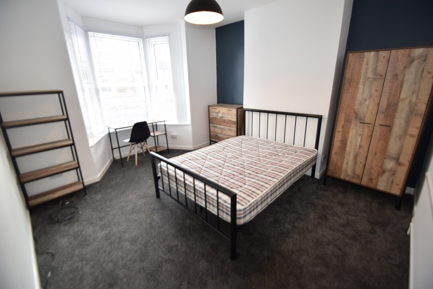 Rosedale Road - Sheffield Student Accommodation - Bedroom