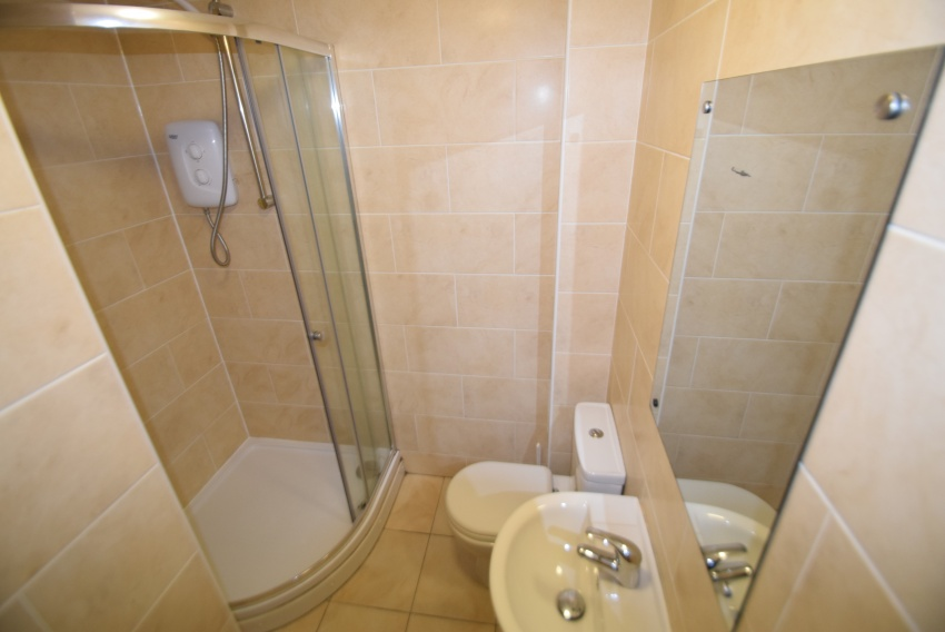 Rosedale Road - Sheffield Student Accommodation - Shower Room