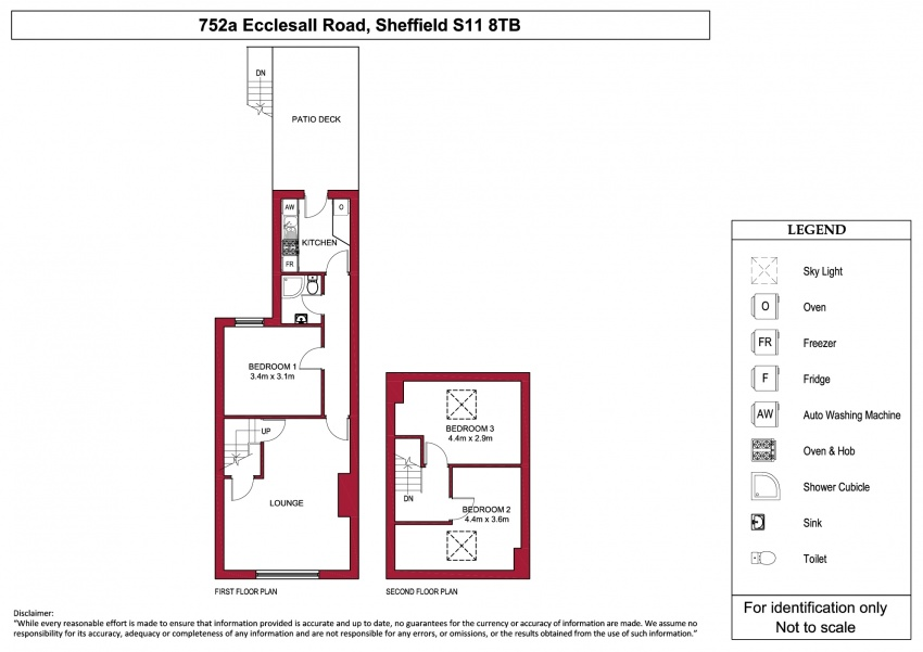 Floor plan for 752a Ecclesall Road, Hunters Bar