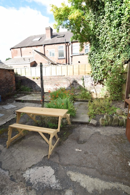 Harefield Road - Sheffield Student House - Garden