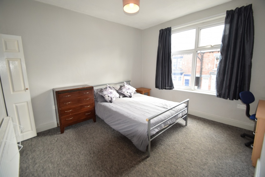 Harefield Road - Sheffield Student House - Bedroom