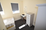 Harefield Road - Sheffield Student Property - Bedroom 2 (with ottoman storage bed)