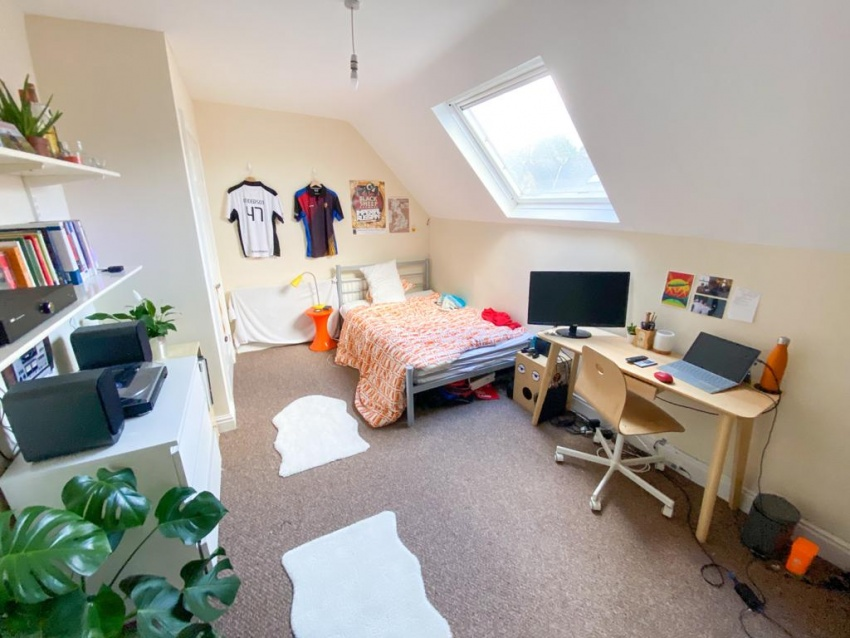 Marlborough Road - Sheffield Student House - Bedroom