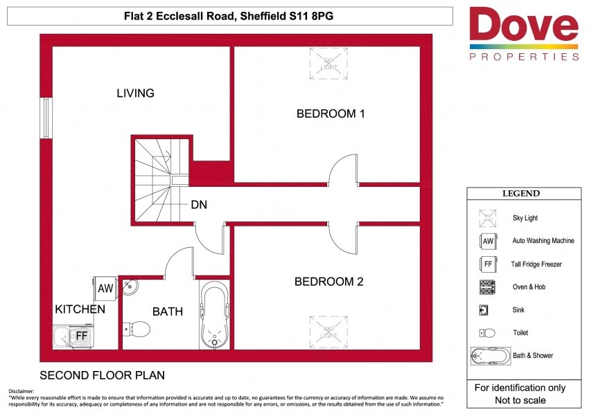 2 Bed Property To Let S11 8pg Dove Properties