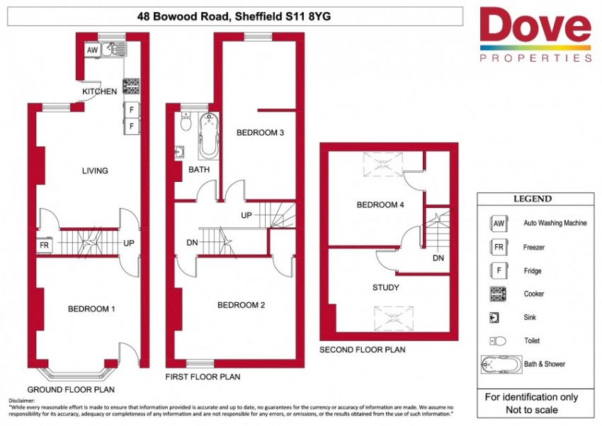 Floor plan for 48 Bowood Road, Ecclesall Road