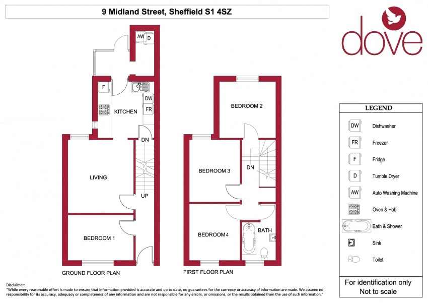 4 Bed Property to Let S1 4SZ | Dove Properties