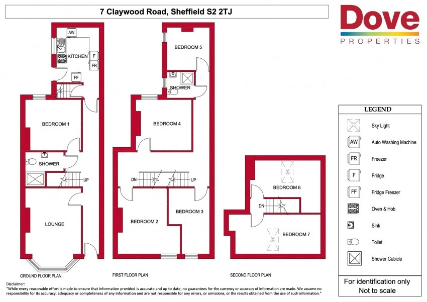 Floor plan for 7 Claywood Road, City Centre