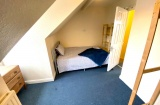Wayland Road, Sheffield Student Property - Attic Bedroom