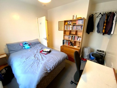 Club Garden Road - Sheffield Student House - Bedroom