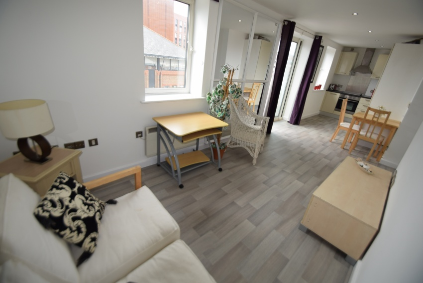 Coopers House, Sheffield Student Property - Living Area