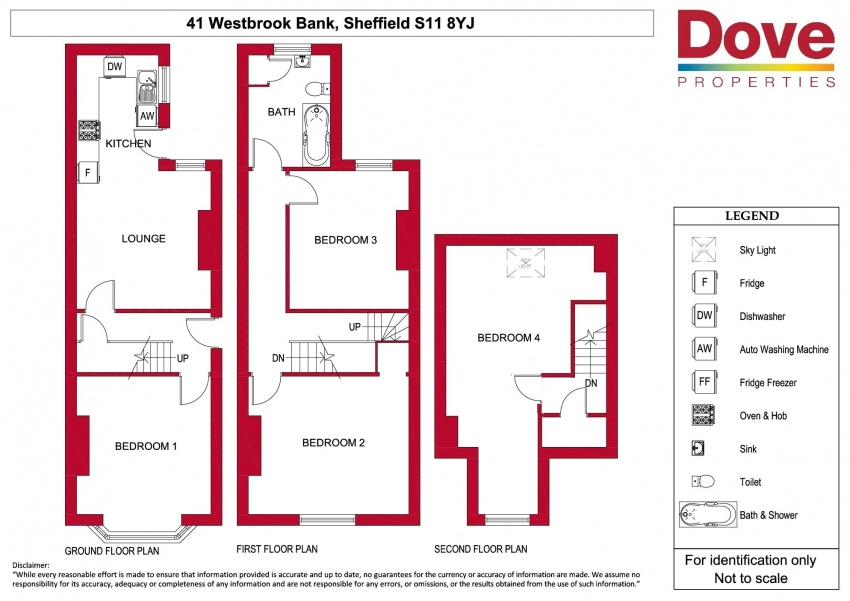 Floor plan for 41 Westbrook Bank, Ecclesall Road
