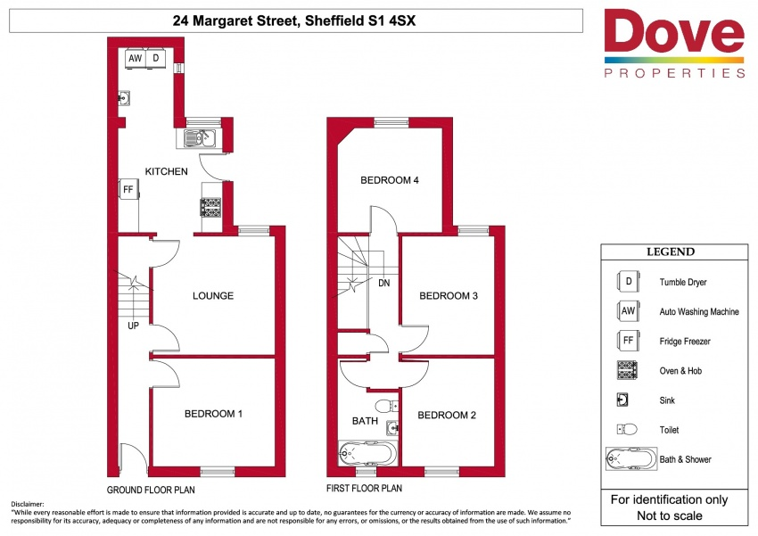 Floor plan for 24 Margaret Street, Shoreham Street