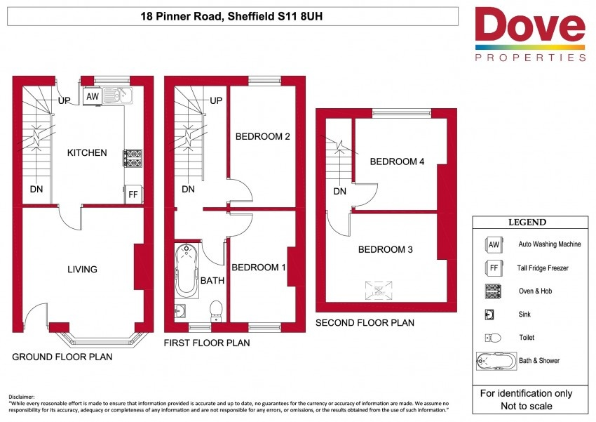 Floor plan for 18 Pinner Rd, Hunters Bar