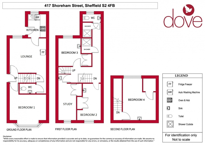 Floor plan for 417 Shoreham Street, Shoreham Street