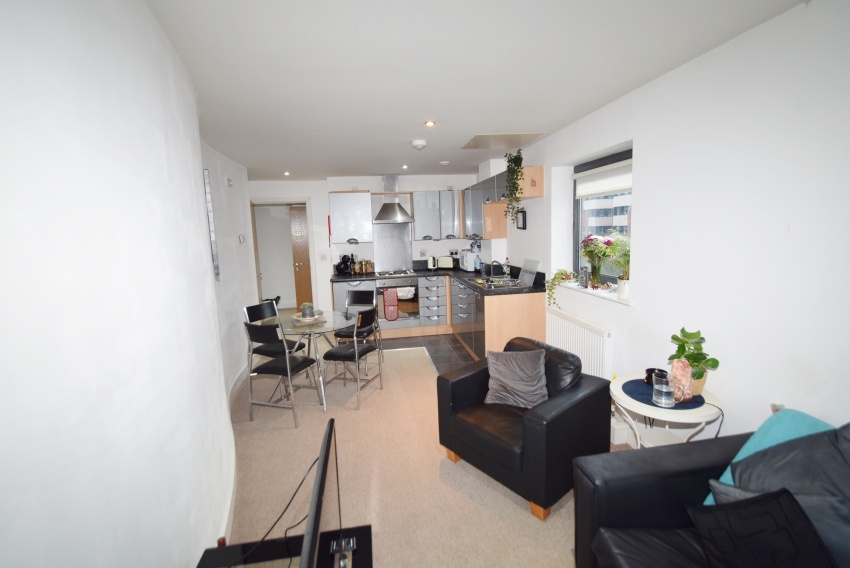 Ecclesall Road - Sheffield Student Apartment - Lounge