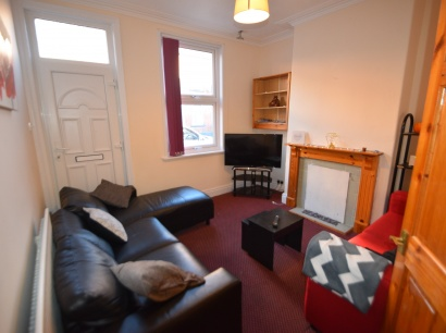 Eastwood Road, Sheffield Student Accommodation - Lounge