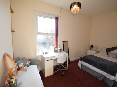 Eastwood Road, Sheffield Student Accommodation - Bedroom