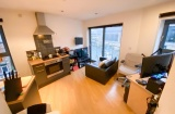 Ecclesall House, Sheffield Student Property - Living/Kitchen Area