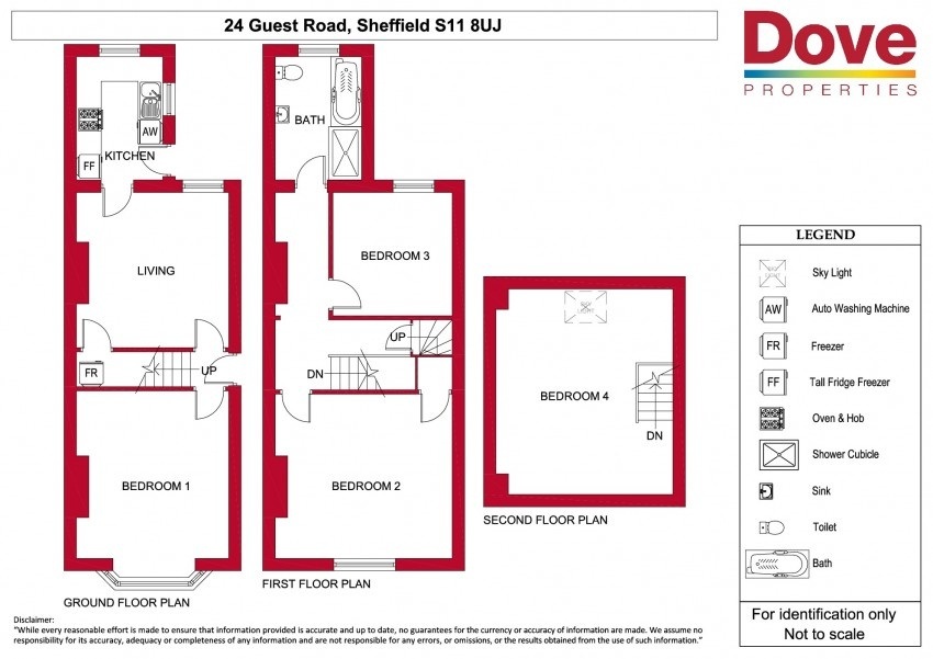 Floor plan for 24 Guest Road, Hunters Bar