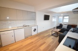 Harefield Road, Sheffield Student Housing - Lounge/Kitchen/Dining
