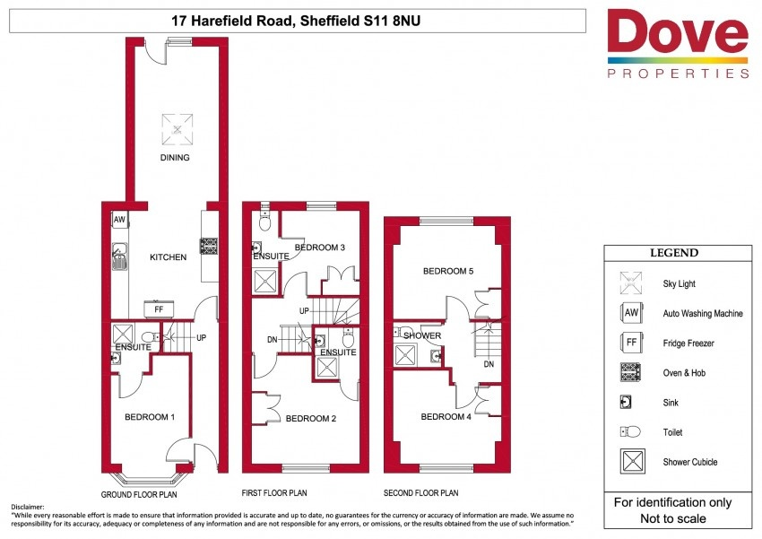Floor plan for 17 Harefield Road, Ecclesall Road