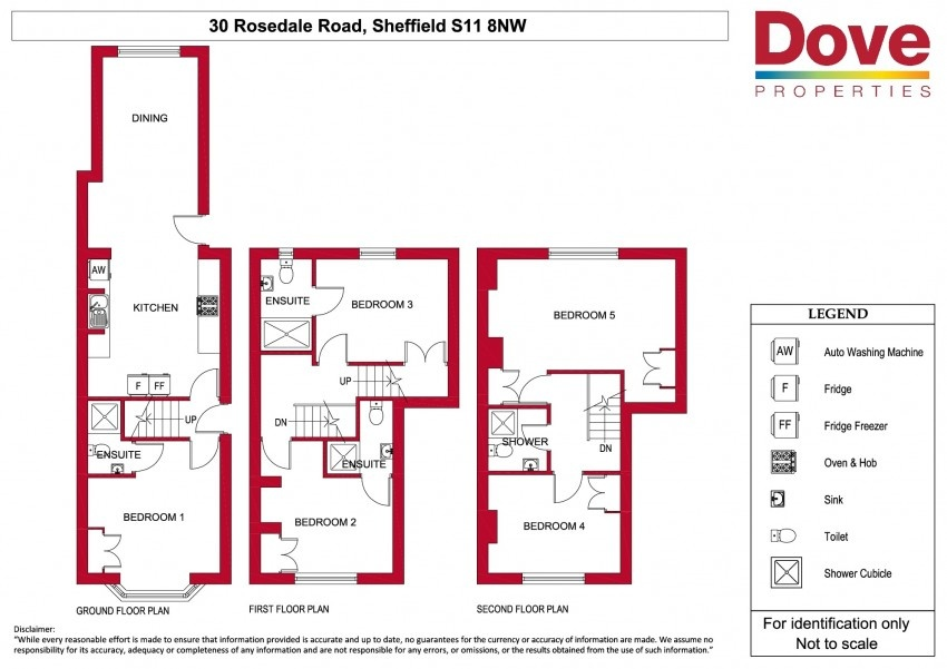 Floor plan for 30 Rosedale Road, Ecclesall Road