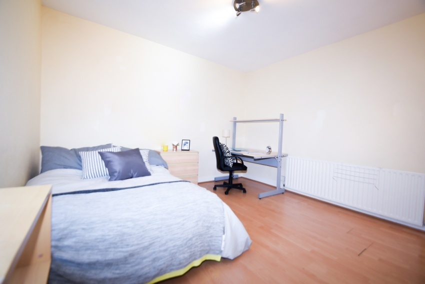 Club Street, Sheffield Student Housing - Bedroom