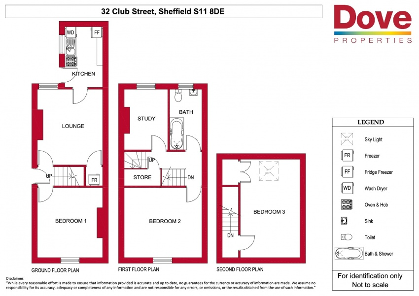 Floor plan for 32 Club Street, London Road