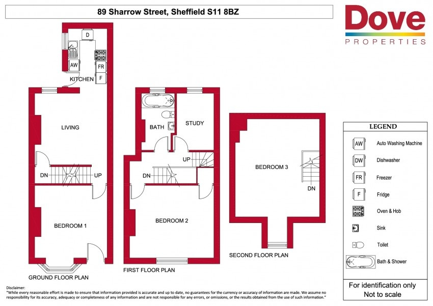 Floor plan for 89 Sharrow Street, London Road