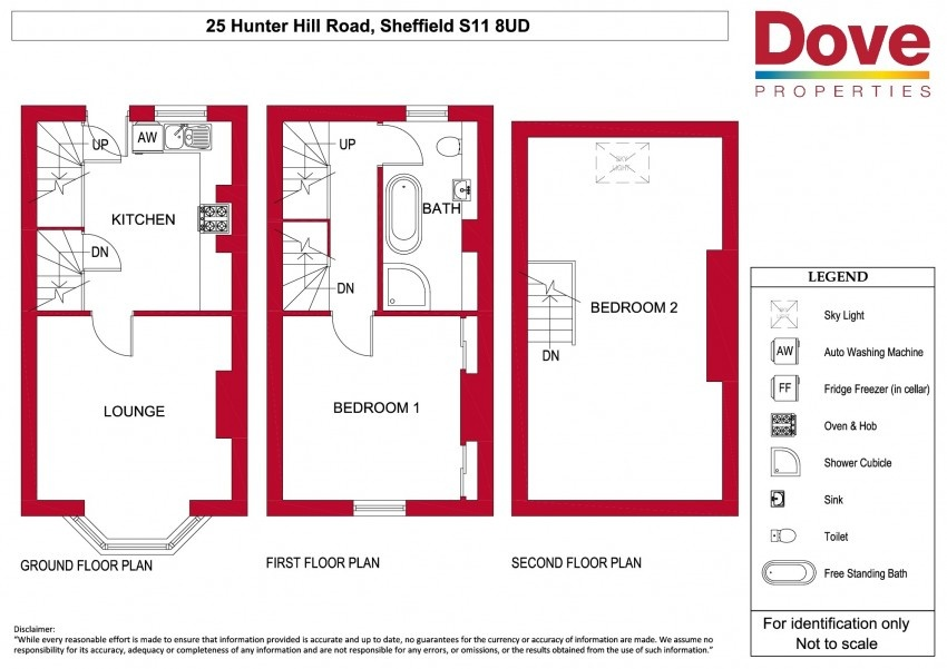 Floor plan for 25 Hunter Hill Road, Hunters Bar