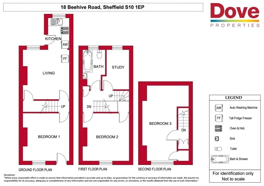 Floor plan for 18 Beehive Road, Crookesmoor