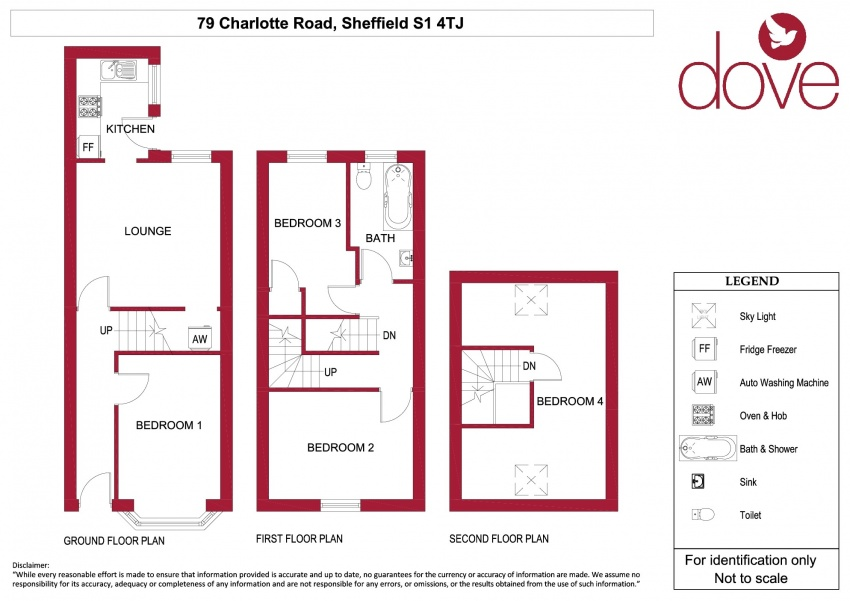 Floor plan for 79 Charlotte Road, Shoreham Street