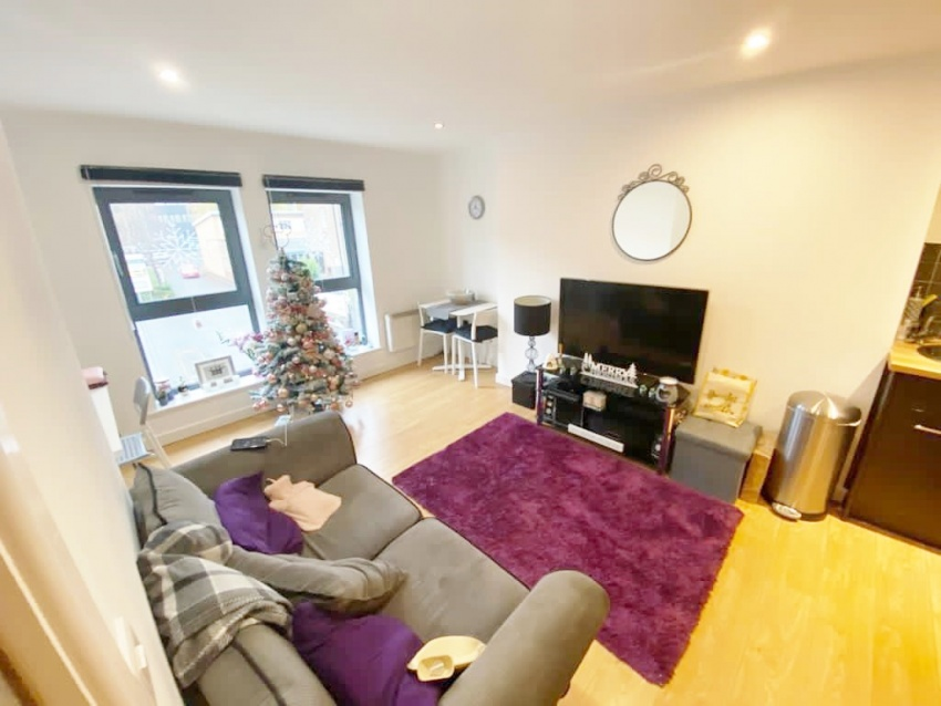 Ecclesall House, Sheffield Student Housing - Living Area