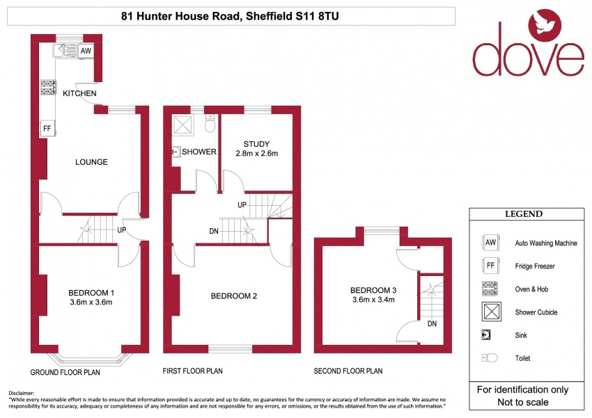 3 Bed Property To Let S11 8TU
