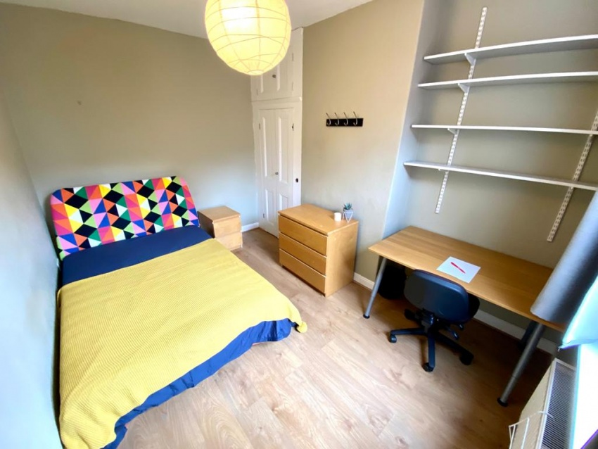 Sharrowvale Road, Sheffield Student Property - Bedroom