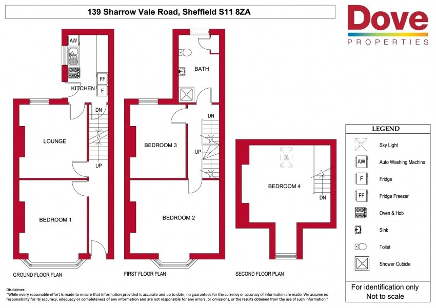 Floor plan for 139 Sharrowvale Road, Ecclesall Road