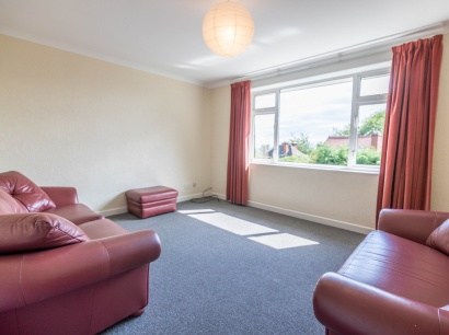 Ryegate Road - Sheffield Student Apartment - Bedroom