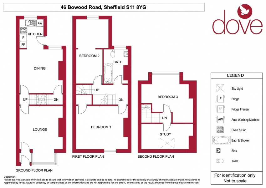 Floor plan for 46 Bowood Rd, Ecclesall Road