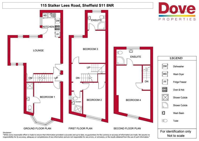 Floor plan for 115 Stalker Lees Rd, Ecclesall Road