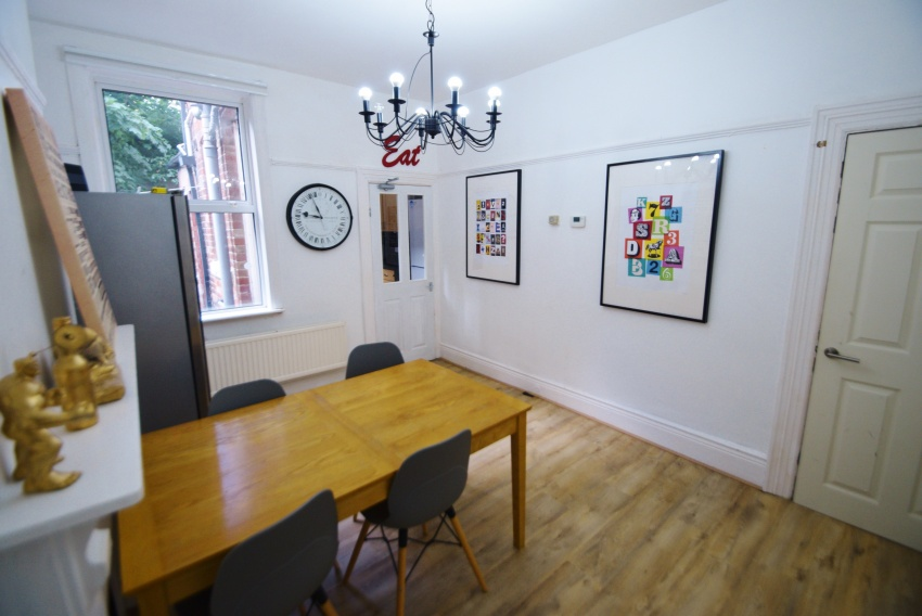 Everton Road, Sheffield Student Property - Dining Room