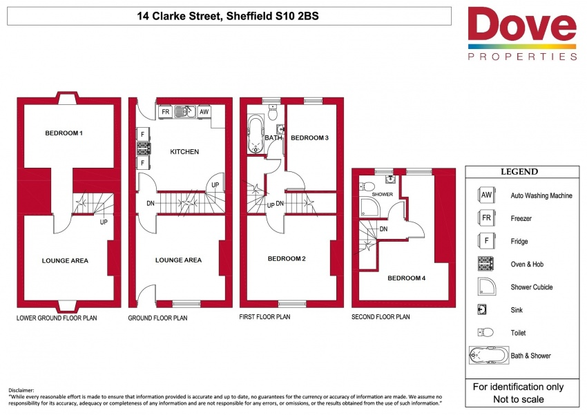 Floor plan for 14 Clarke St, Broomhall