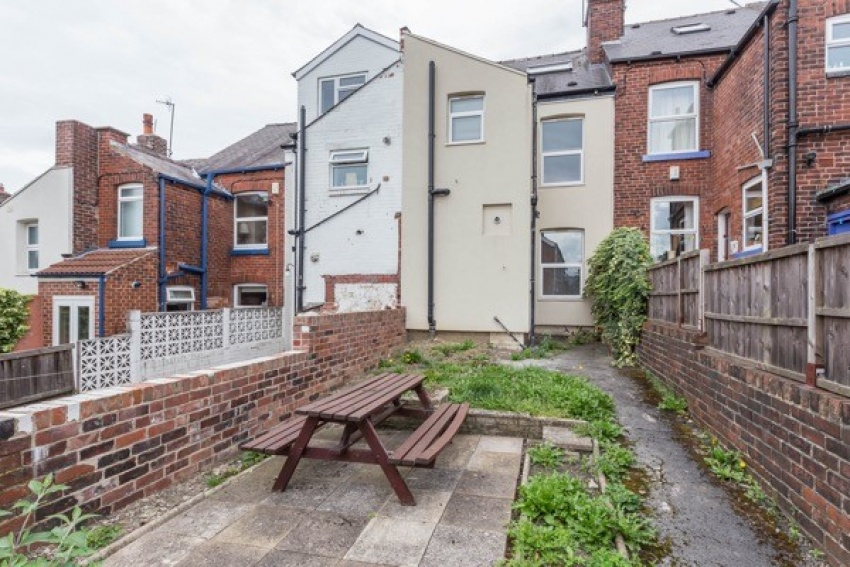 Wayland Road, Sheffield Student House- Garden