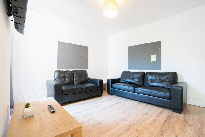 Midland Street, Sheffield Student Property - Bedroom