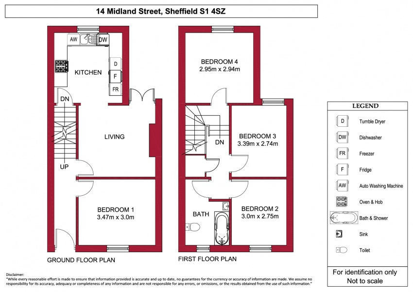 Floor plan for 14 Midland Street, Shoreham Street