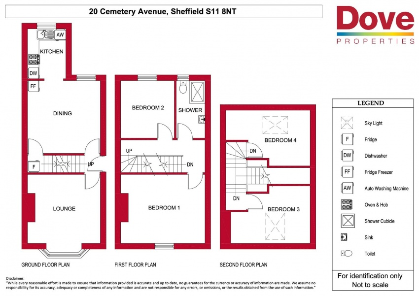 Floor plan for 20 Cemetery Avenue, Ecclesall Road